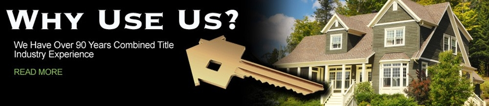 Why Use Us? Over 90 years of combined experience.